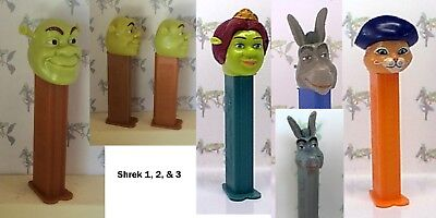 PEZ - The Shrek Series - Choose Character and Condition from Pull Down Menu