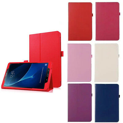 """Flip Stand Leather Case Cover For Samsung Galaxy Tab A A6 10.1"""" T580 T585 Tablet"""