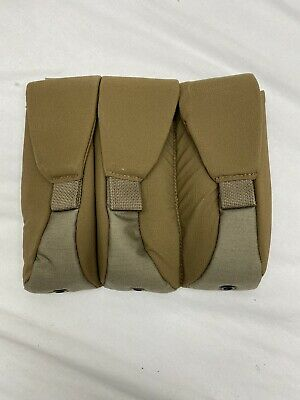 S&S Precision Old Gen Coyote Tan Plate Frame 3 Mag Pouch w/Flaps SEAL DEVGRU