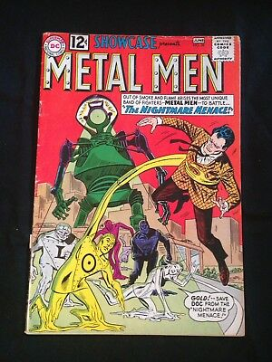 Showcase, #38, June 1962, 2nd Appearance Of The Metal Men