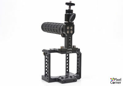 SmallRig Cage, Top handle & Monitor bracket for Blackmagic Micro Cinema camera