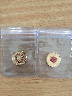 2018 UNC $2 two dollar Invictus Games Sydney & ANZAC LWF Eternal Flame Coin Set