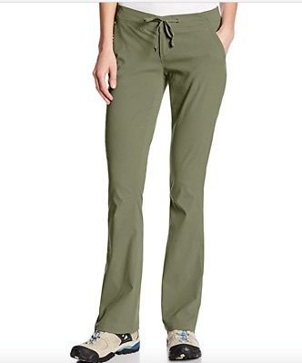 Columbia Womens size 10 Anytime Outdoor Bootcut Pant Cypress Green