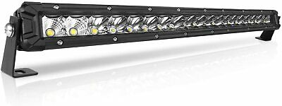 32INCH 4080W LED Light Bar PK 30INCH Offroad Flood Spot Combo SUV For JEEP FORD