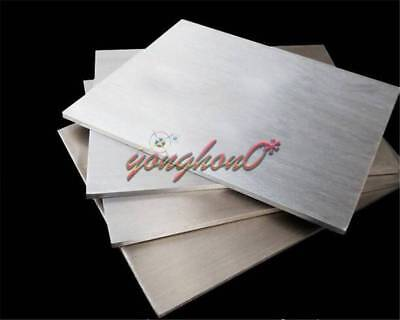 2pcs 304 Stainless Steel Fine Polished Plate Sheet 0.5mm x 100mm x 100mm