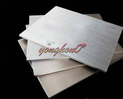 304 Stainless Steel Fine Polished Plate Sheet 1.5mm x 100mm x 100mm 1Pc