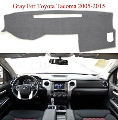 US Dashmat Dash Cover Dashboard Mat Pad For Toyota Tacoma 2005-2015 Fly5D Black