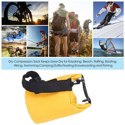 Outdoor Waterproof Canoe Swimming Camping Hiking Large Backpack Dry Bag Pouch