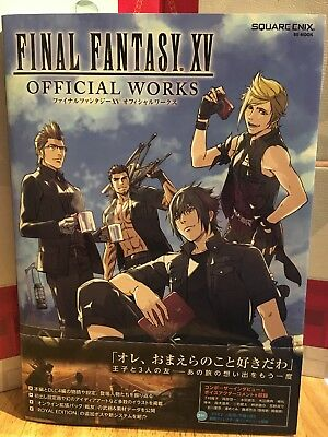 Brand New Japan Exclusive Final Fantasy XV FF15 FFXV Official Works *US Seller*