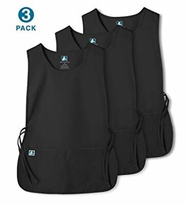Adar Unisex Cobbler Apron with 2 Pocket/Adjustable Ties - Size, Regular [3 pk]