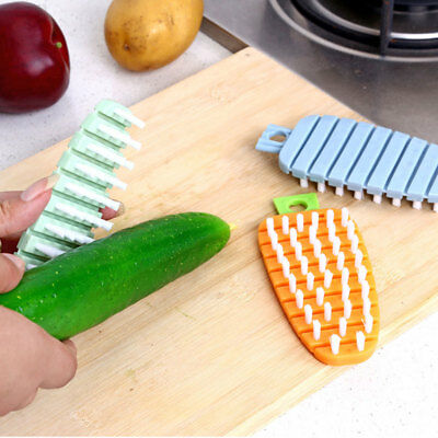 BF43 Flexible Cleaning Brush Scrubber Vegetables Household Kitchen PE+PP