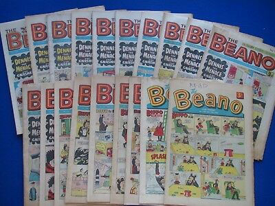 The Beano Comic : 1966 - 1980  - Choose which issues you need ...Your Birthday ?