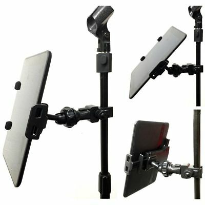 Microphone Stand Tablet Arm Holder Suspension Boom Adapter Top Clip Mount Surfac