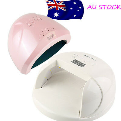 36W LED Light Lamp UV Nail Art Dryer Curing Gel Gelish Timer Polish Manicure AU