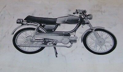 Ams Moped  Clinton Moped Generalmoped Owners Manual Vespa Sachs Puch Peugeot