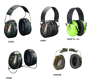 3M PELTOR Optime II Premium Quality Ear Defender Muffs