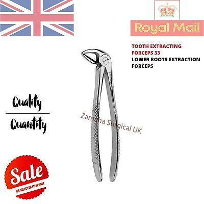 Extracting Forceps Lower Premolar #33, Tooth Extracting Forceps Zamaha Uk - Ce