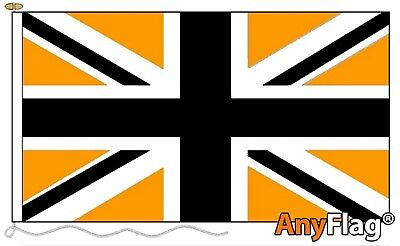 Union Jack Black And Gold Custom Made To Order Various Flag Sizes