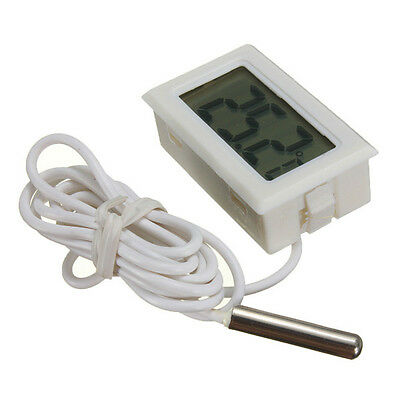 Aquarium Lcd Digital Thermometer White £2.29 Dispatch 24Hrs Uk