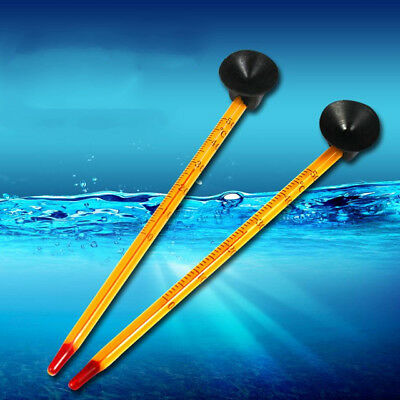Aquarium Glass Thermometer with Suction Hydrometer £1.99 24HR DISPATCH UK