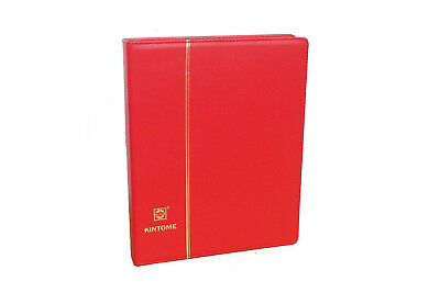 1 x New Binder Album 4 Ring (Red) For Coins Stamps Banknotes Stock Sheet Pages