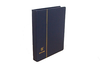 1 x New Binder Album 4 Ring (Blue) For Coins Stamps Banknotes Stock Sheet Pages
