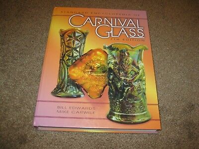 Standard Encyclopedia of Carnival Glass Book by Mike Carwile & Bill Edwards...