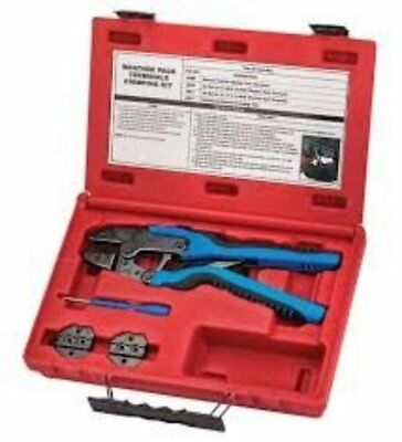 S & G Tool Aid Weather Pack Terminals Crimping Kit (SGT-18850)