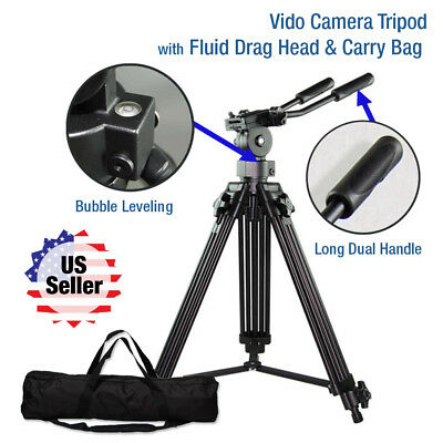 60-Inch Pro Series Full Size Camera / Video Tripod with Carry Bag