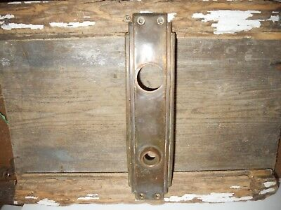Vtg Art Deco Skyscraper Large Antique Door Knob Backplate Arts/crafts Pinterest