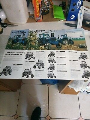 ford the new ford tractors sales brochure
