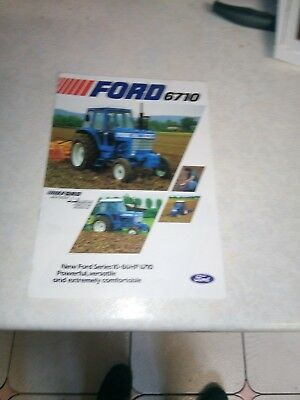 ford 6710 sales brochure 8 pages