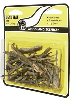 Woodland Scenics S30 Dead Fall Trees/Branches 0.5oz (14 g)