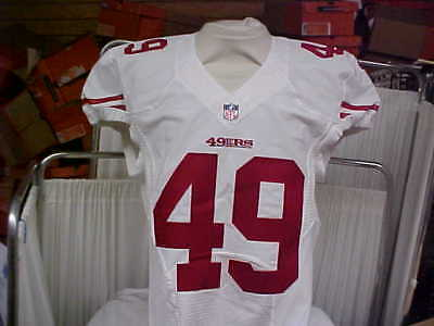 f4453c1b9 2016 NFL San Francisco 49ers Game Worn Team Issued Jersey Player  49 Size 44