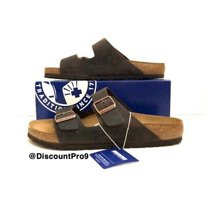 d10c3e90f5b BIRKENSTOCK ARIZONA HABANA NuBuck Oiled Leather Sandal Unisex Sizes ...