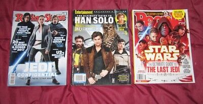 Mixed Lot of 3 STAR WARS MAGAZINEs Brand New Free Shipping