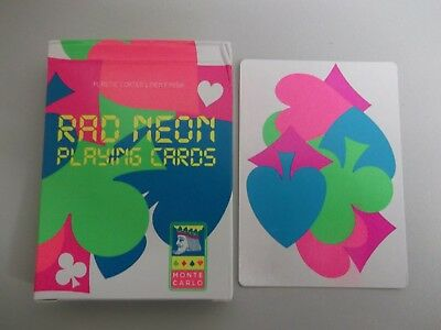 "SUPERB PACK ""Bicycle Type - Rao Neon (SUPERB)"" Pack of Playing Cards"