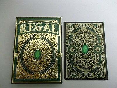 "SUPERB PACK ""Bicycle Type - Regal (Green & Gold) (SUPERB)"" Pack of Playing Cards"