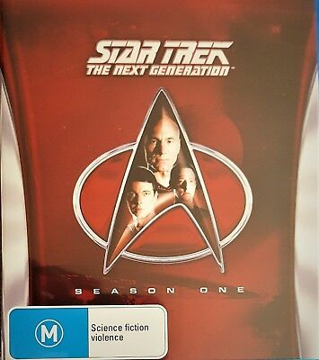 Star Trek the Next Generation: The Complete Season 1 [Blu-ray] As new