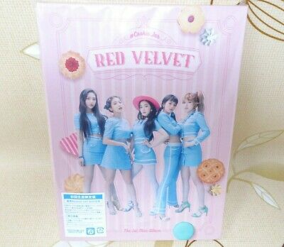 Red Velvet Cookie Jar First Limited Edition 2 CD Booklet 2 Card