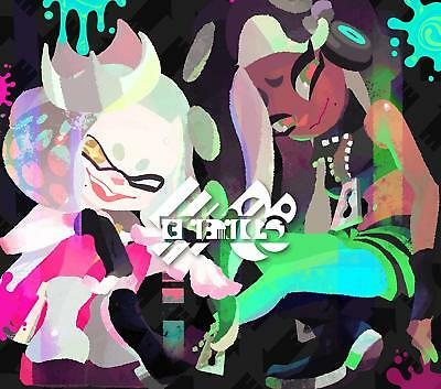 Splatoon2 ORIGINAL SOUNDTRACK Octotune First Limited Edition 2CD Blu-ray