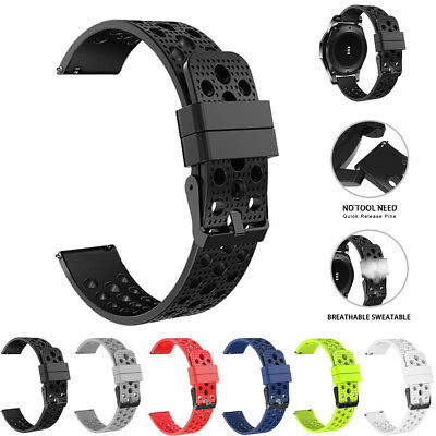 Soft Silicone Bracelet Strap Watch Band For Samsung Gear S3 Frontier Wrist 22mm