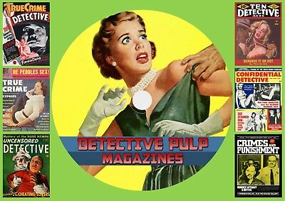 Detective Pulp Magazines On DVD Rom