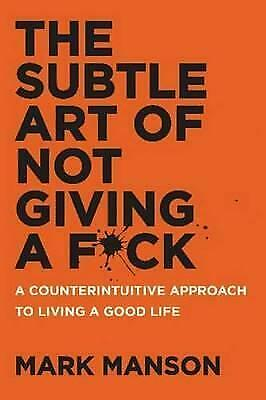 NEW The Subtle Art of Not Giving a F*ck Paperback (Free Shipping)