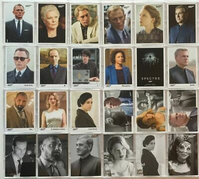 James Bond Archives 2017 Final Edition Spectre / SkyFall Expansion Card Set 24 C