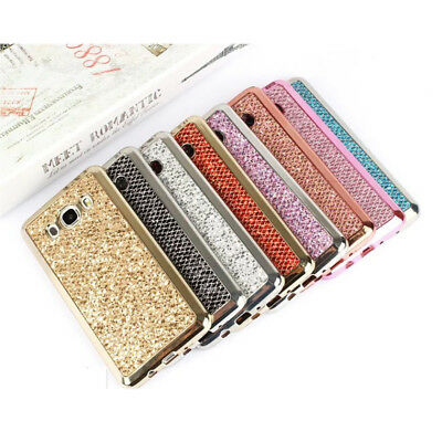 Case For Samsung S8 S9 Plus Note 8 Luxury Bling Shockproof Soft TPU Back Cover