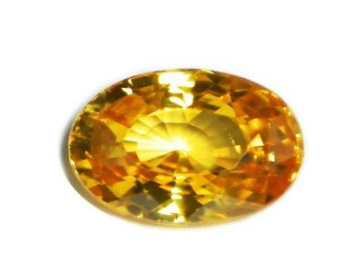 Zircon Natural Fanta Orange 2.65 Cts - Natural Loose Gemstone - 19125