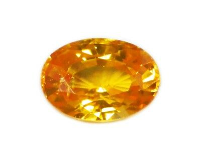 Zircon Natural Fanta Orange 2.41 Cts - Natural Loose Gemstone - 19126