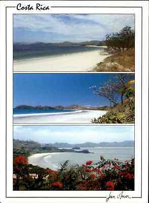 COSTA RICA Postcard Mehrbild-AK Playa Conchal Y Play Flamingo, Beach, Plage AK