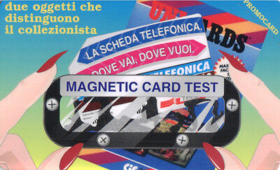 *4674 Magnetic Card Test Fac Simile Di Scheda Telefonica Unicard